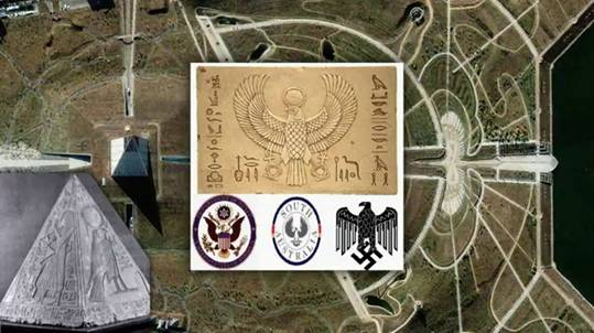 "17-е таммуза, Крымск и ""1-й чемпионат мира по рапиду"" Pyramid_symbols"