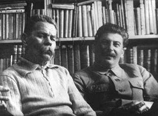 «Евреи» и «совки» Gorky_stalin