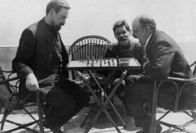 «Евреи» и «совки» Lenin_bogdanov_chess