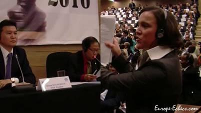 Суккот 5771 и 81-й Конгресс ФИДЕ (2010) GA_81_election_brawl_girl